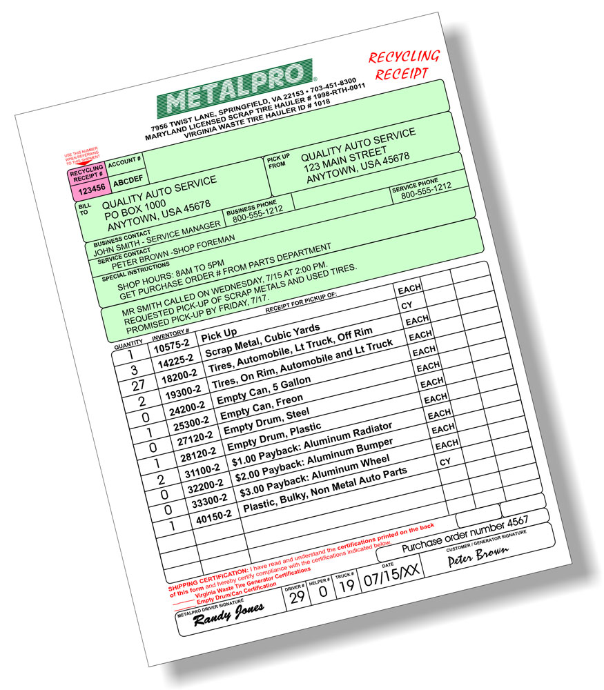 Municipal Gross Receipts Surcharge Expressexpense  Custom Receipt Maker  Online Receipt Template Tool Due Upon Receipt Pdf with Excel Invoice Templates Pdf Jamies New And Used Tir Chevy Silverado Invoice Price Word