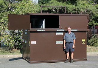 Metalpro Scrap Metal Used Tire Storage Containers