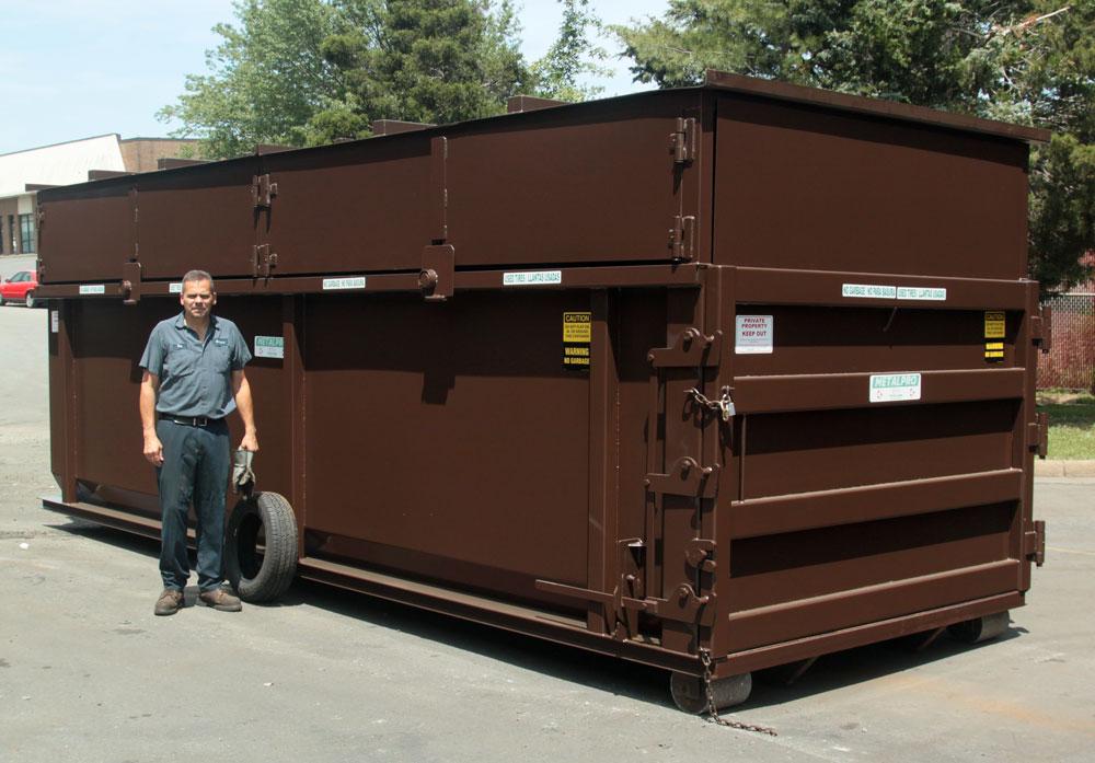 Metalpro Large 15 to 30 Cubic Yard Locking Covered Scrap Metal